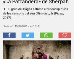 L'Estiu es balla a ritme de *La Parrandera* dels Sherpah